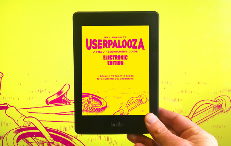 USERPALOOZA – A Field Researcher's Guide is now available as an ebook.